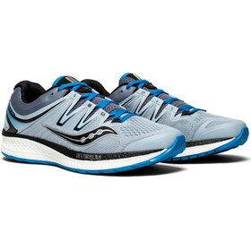 saucony Hurricane ISO 4 Shoes Men Grey/Blue/Black